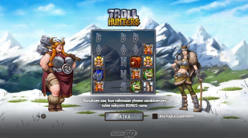 troll hunters bonustoiminnot