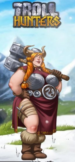 troll hunters viikinkinainen