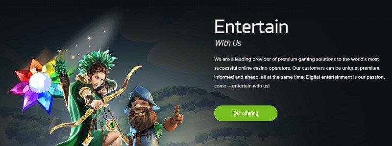 netent pelinvalmistaja yleistä tietoa