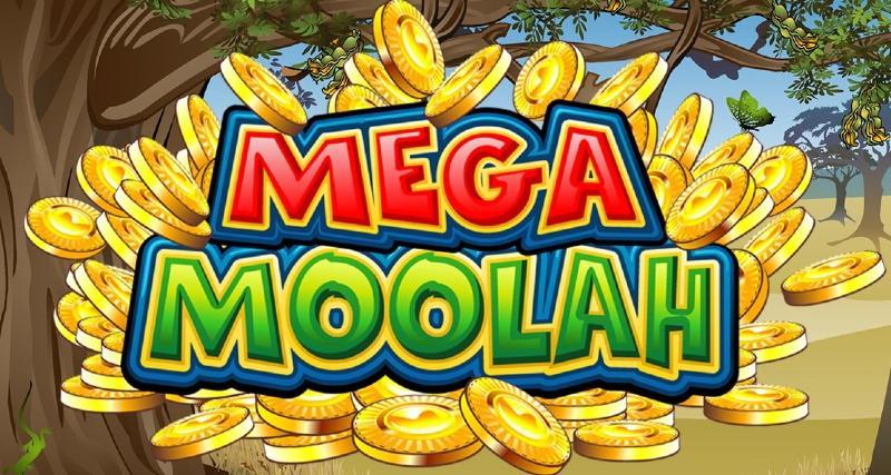 mega moolah jackpot peli logo