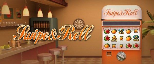 Swipe & Roll -kolikkopeli
