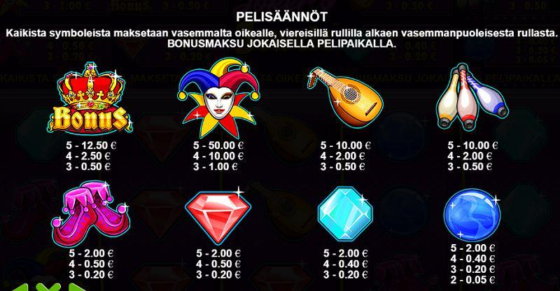 joker's jewels pelisymbolit