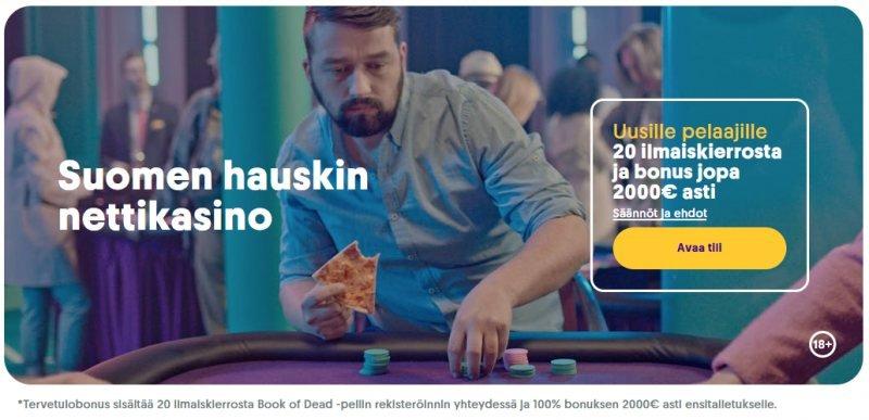 casumo casino suomen hauskin nettikasino tervetulobonus