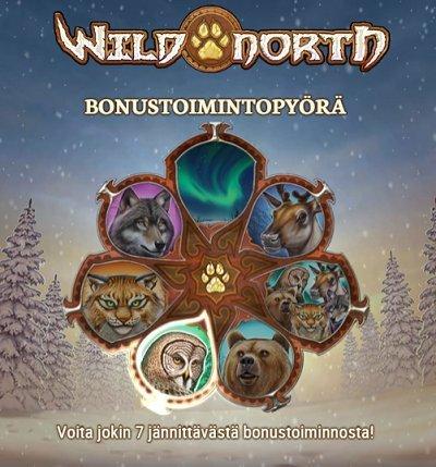 wild north bonustoimintopyörä