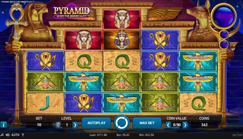 pyramid quest for immortality peruspeli