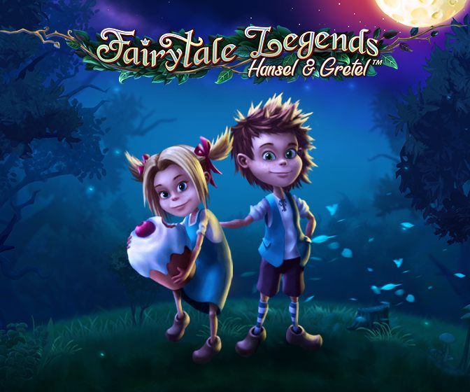 fairytale legends hansel & gretel logokuva