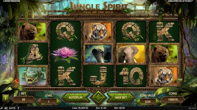 jungle spirit call of the wild peruspeli