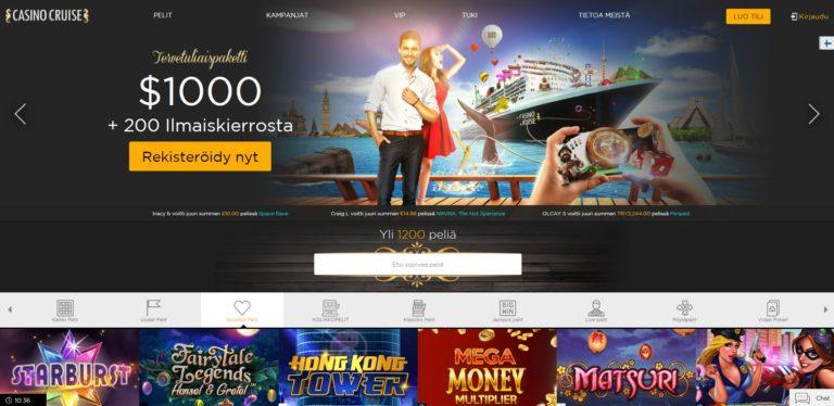 Casino Cruise nettikasino