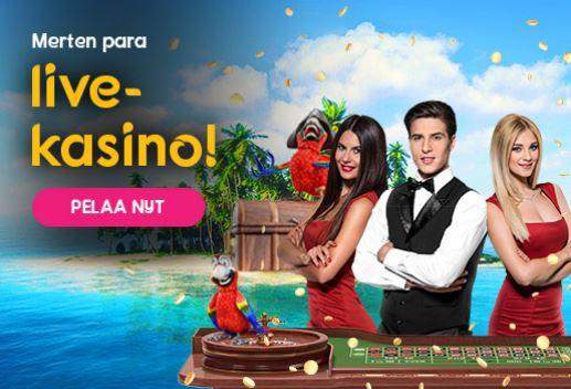 Cashiopeia live kasino