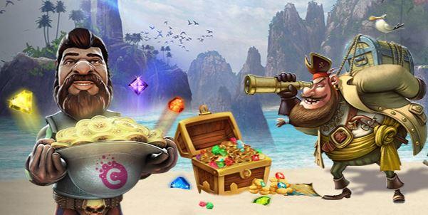 Piraatit Cashiopeia kasinolla