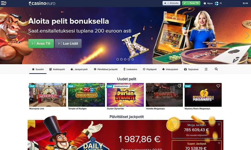 CasinoEuro-nettikasino