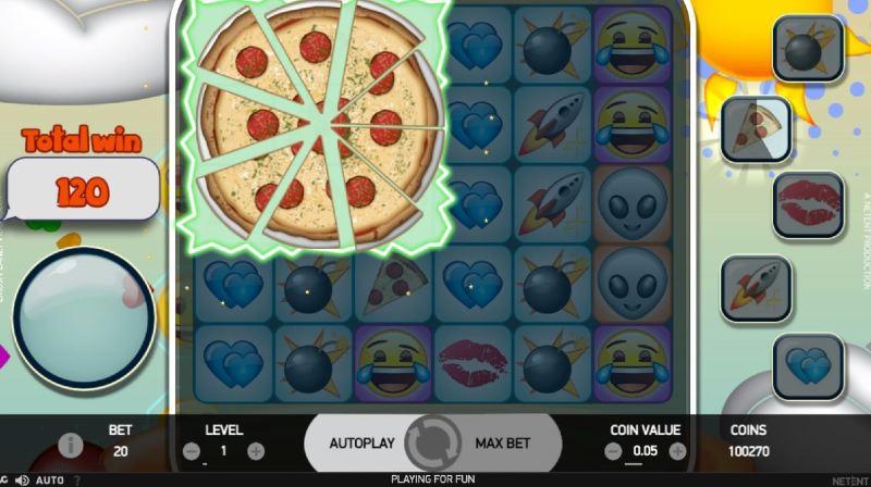 emojiplanet pitsa ominaisuus peli