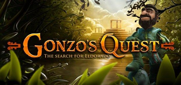 NetEnt kasinot Gonzo's Quest kolikkopelin logo