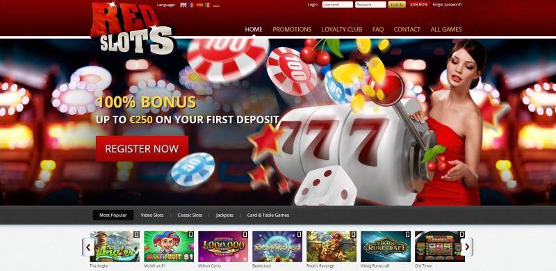 red slots casino etusivu