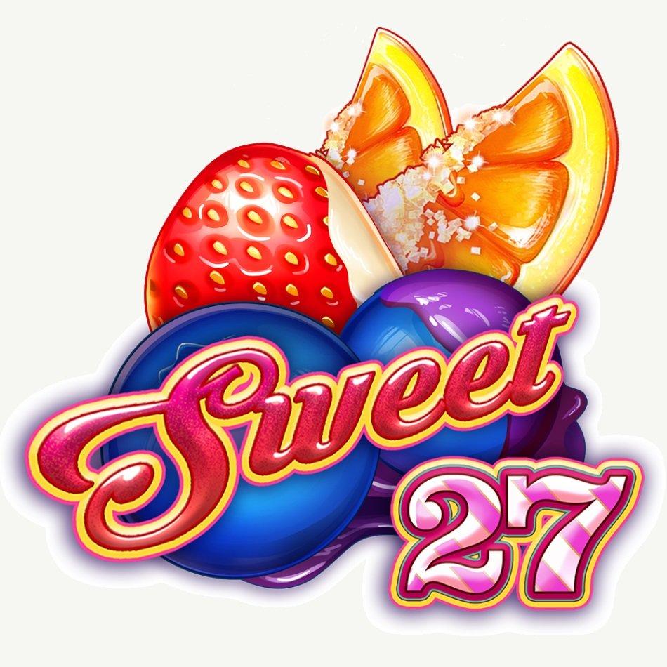 Sweet 27 -kolikkopelin logo