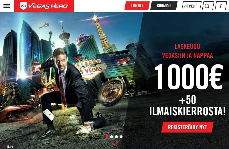 Vegas Hero -nettikasino