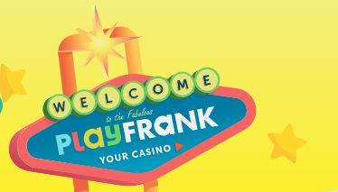 PlayFrank tervetuliaistarjous