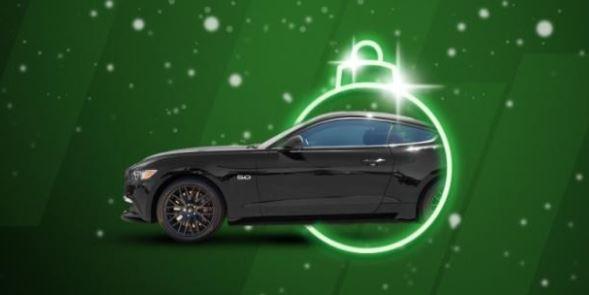 Unibet -nettikasino Ford Mustang