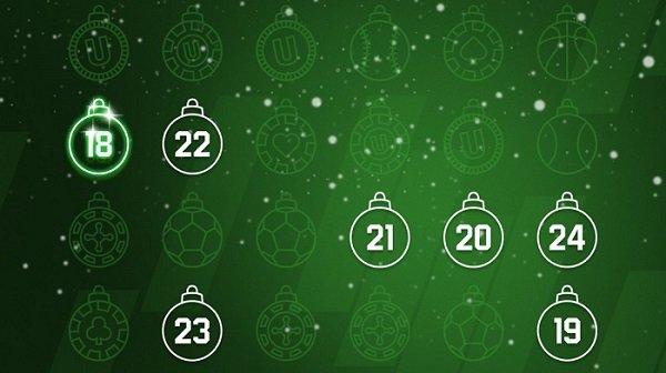 Unibet joulukalenteri