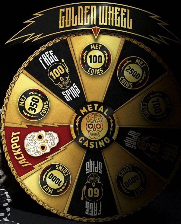Metal Casino bonukset