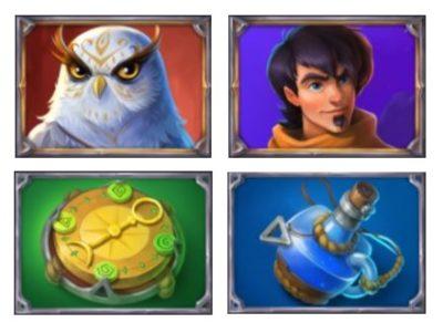 Ozwins jackpots kolikkopeli symbolit