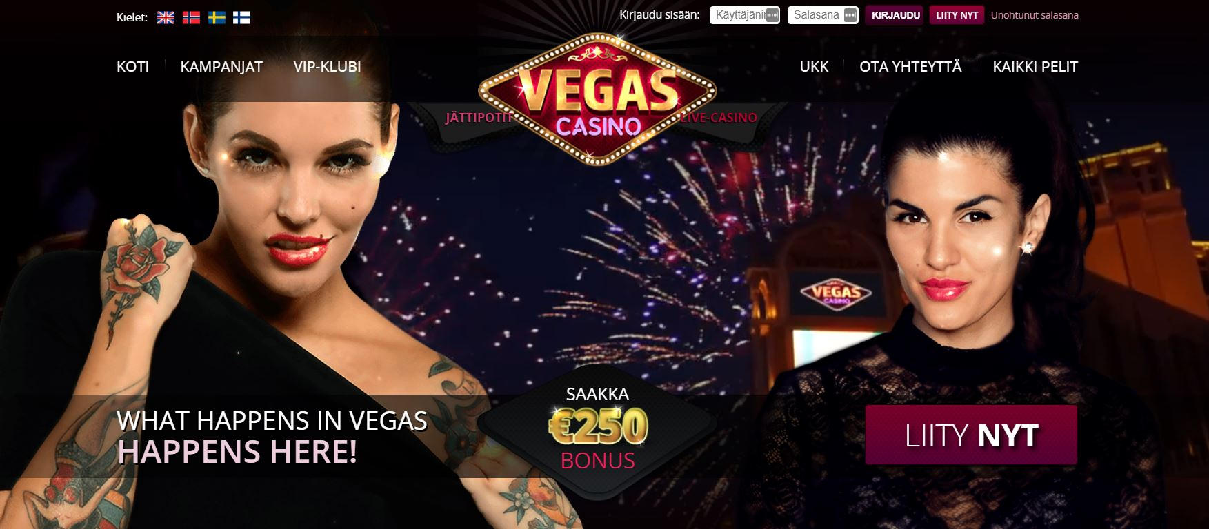 Vegas Casino nettikasino