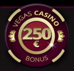 Vegas Casino tervetuliaistarjous