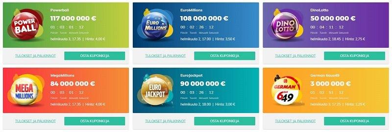 Eurolotto lottoarvonta