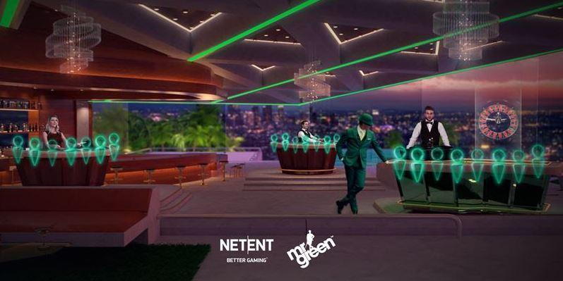 Mr Green NetEnt livekasino