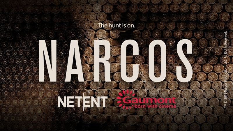 Narcos-kolikkopeli NetEnt