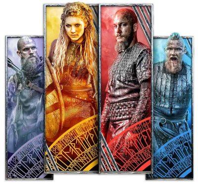 Vikings pelin pinotut symbolit