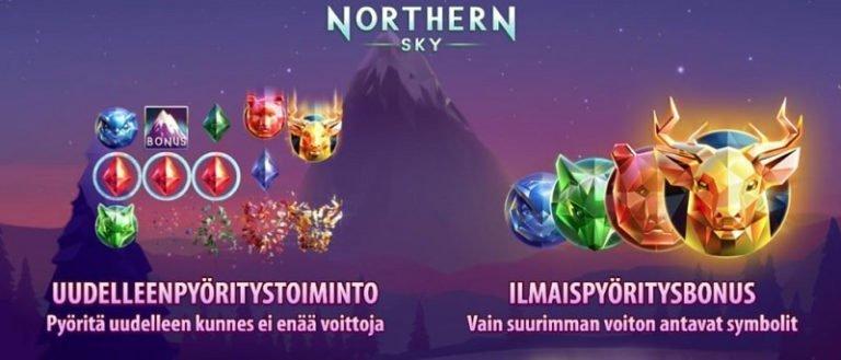 Northern Sky bonukset