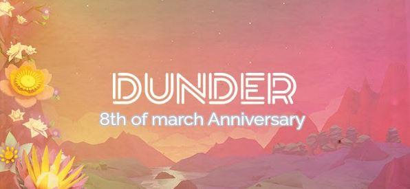 Dunder Casino 2 vuotta