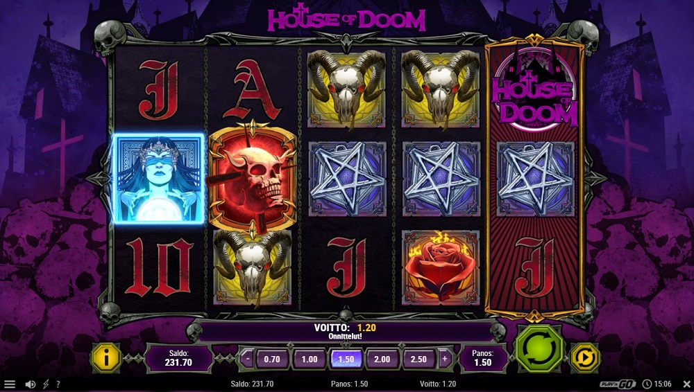 House of Doom kolikkopeli