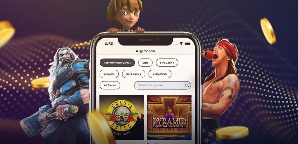iGame mobiilikasino kampanja