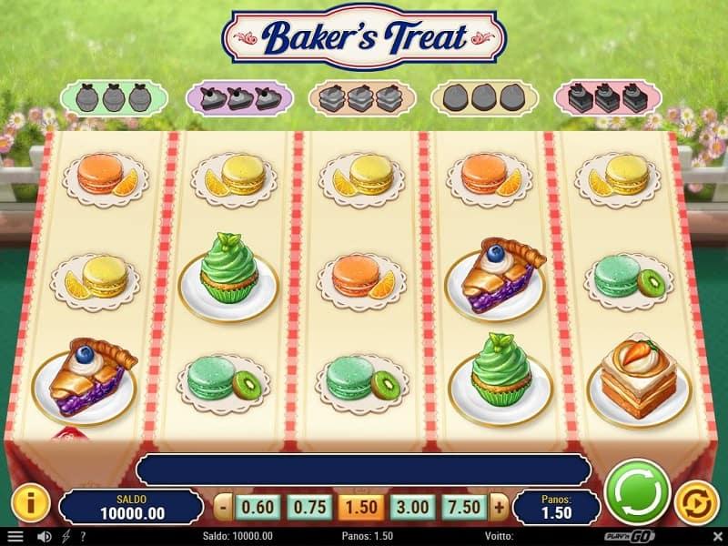 Baker's Treat kolikkopeli