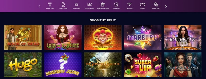 Genesis Casino pelit