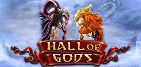 Hall of Gods jackpot-peli