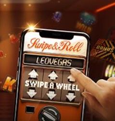 LeoVegas Swipe and Roll kampanja