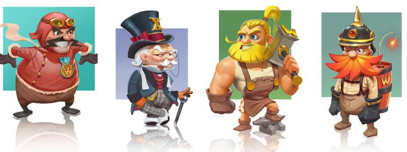 Dwarfs Gone Wild -slotti kääpiöt