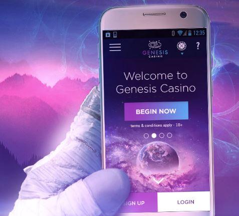 Genesis Casino mobiili