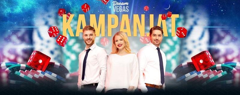 Dream Vegas kasinokampanjat