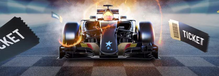 CasinoEuro Formula 1 -liput