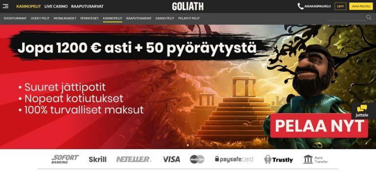 Goliath Casino nettikasino