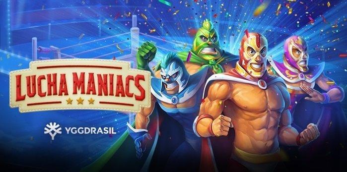 Lucha Maniacs slotti