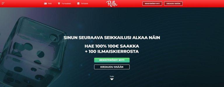 Rolla Casino nettikasino 2018