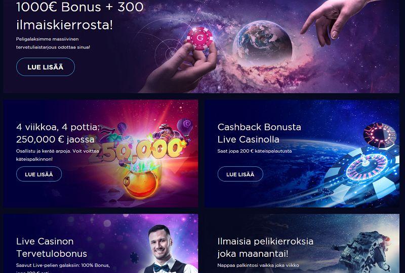 genesis casino kampanjat