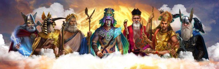 7 Gods -nettikasinon jumalklaanit