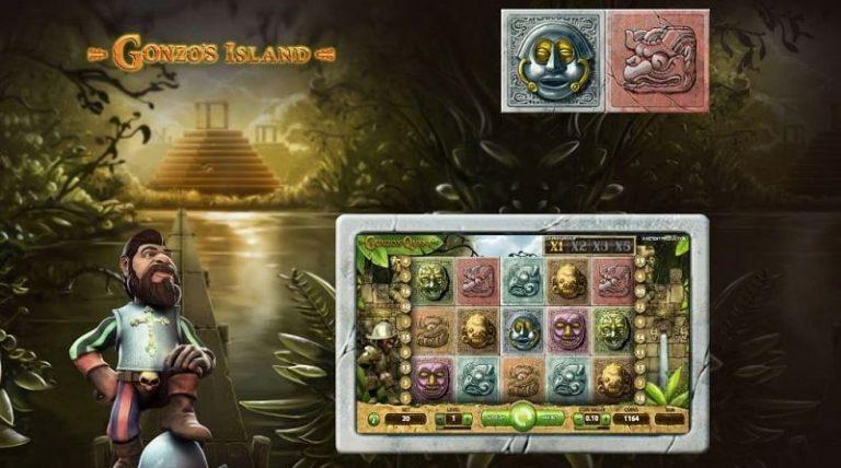 Casino Heroes Gonzo's Island