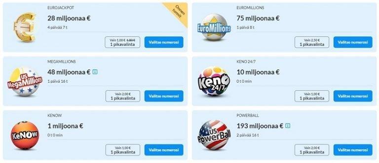 Kolikkopelit-kasino lotto